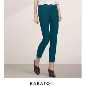 Aritzia Babaton   Elliot slim grazer pant green